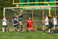 5814 Girls Varsity Soccer v Cedar Park 090412