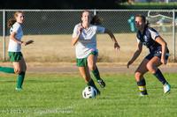 5910 Girls Varsity Soccer v Cedar Park 090412