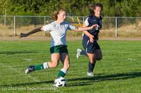 6002 Girls Varsity Soccer v Cedar Park 090412