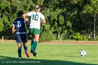 6015 Girls Varsity Soccer v Cedar Park 090412