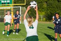 6080 Girls Varsity Soccer v Cedar Park 090412