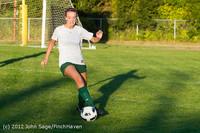 6220 Girls Varsity Soccer v Cedar Park 090412