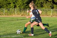 6340 Girls Varsity Soccer v Cedar Park 090412