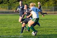 6364 Girls Varsity Soccer v Cedar Park 090412