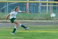 6405 Girls Varsity Soccer v Cedar Park 090412