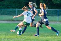 6464 Girls Varsity Soccer v Cedar Park 090412