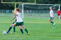 6505 Girls Varsity Soccer v Cedar Park 090412