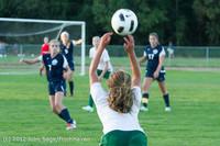 6509 Girls Varsity Soccer v Cedar Park 090412