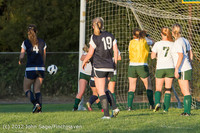 6599 Girls Varsity Soccer v Cedar Park 090412