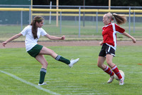 3920 Girls Soccer v Sea-Chr 090910