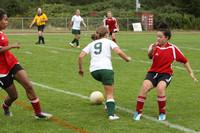 4333 Girls Soccer v Sea-Chr 090910