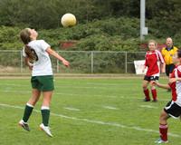 4341 Girls Soccer v Sea-Chr 090910