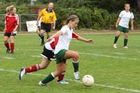 4344 Girls Soccer v Sea-Chr 090910