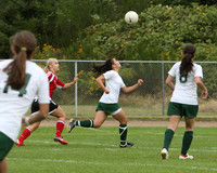 4440 Girls Soccer v Sea-Chr 090910