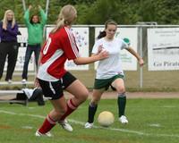 4445 Girls Soccer v Sea-Chr 090910