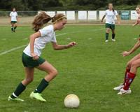 4541 Girls Soccer v Sea-Chr 090910