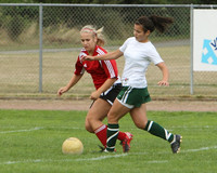 4554 Girls Soccer v Sea-Chr 090910