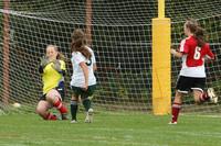 4577 Girls Soccer v Sea-Chr 090910