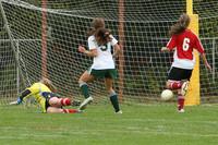 4581 Girls Soccer v Sea-Chr 090910