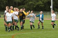 4911 Girls Soccer v Sea-Chr 090910
