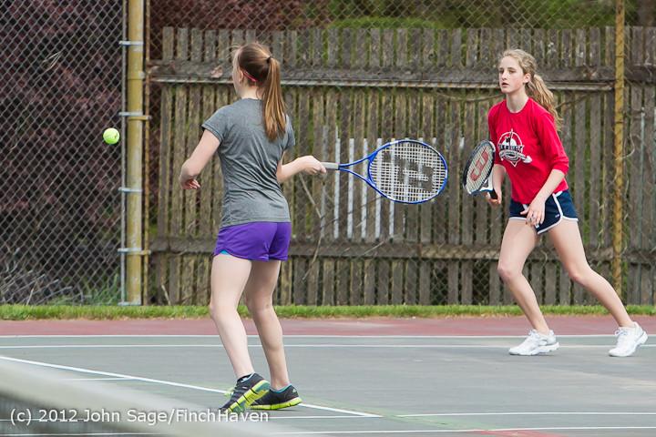 6685 Girls Tennis v Chas-Wright 050212