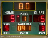 7366 Girls Varsity Basketball v Mornington Breakers 010713