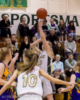 9100 Girls Varsity Basketball v Mornington Breakers 010713