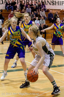 9300 Girls Varsity Basketball v Mornington Breakers 010713