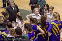 9511 Girls Varsity Basketball v Mornington Breakers 010713