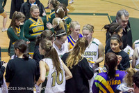 9520 Girls Varsity Basketball v Mornington Breakers 010713