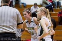 3550 Girls Varsity Basketball v Sea-Academy 113012
