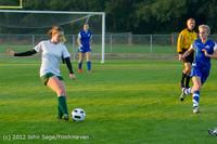19039 Girls Varsity Soccer v Life-Chr 101112