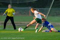 19069 Girls Varsity Soccer v Life-Chr 101112