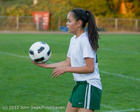 19175 Girls Varsity Soccer v Life-Chr 101112