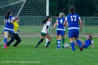19229 Girls Varsity Soccer v Life-Chr 101112