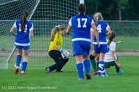 19232 Girls Varsity Soccer v Life-Chr 101112