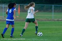 19283 Girls Varsity Soccer v Life-Chr 101112