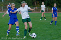 19354 Girls Varsity Soccer v Life-Chr 101112