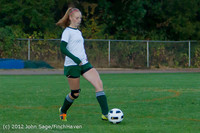 19389 Girls Varsity Soccer v Life-Chr 101112