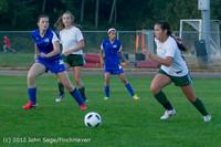 19400 Girls Varsity Soccer v Life-Chr 101112