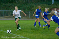 19484 Girls Varsity Soccer v Life-Chr 101112