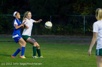 19541 Girls Varsity Soccer v Life-Chr 101112