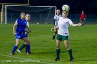 19556 Girls Varsity Soccer v Life-Chr 101112