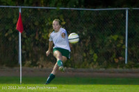 19572 Girls Varsity Soccer v Life-Chr 101112