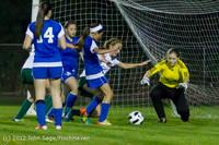 19699 Girls Varsity Soccer v Life-Chr 101112