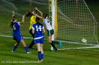 19847 Girls Varsity Soccer v Life-Chr 101112