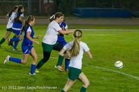 20120 Girls Varsity Soccer v Life-Chr 101112
