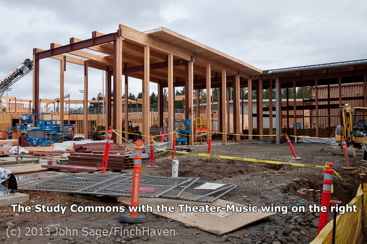 Vashon Island High School Construction Project — 2013