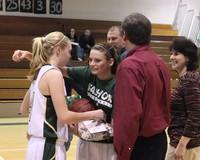 2731 VHS Cheer and Basketball Seniors Night 2010