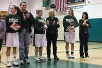 2760 VHS Cheer and Basketball Seniors Night 2010